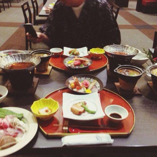 夕食にて(*´・ω・)
