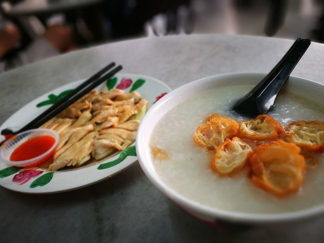 EyeEmNewHere Indoors  Porridge Porridge, Food, Penang, Awesome, Nice Healthy Eating Freshness Processed Meat No People Close-up Asian Food Foodporn Foodporn❤️ Food Photography Foodpornasia