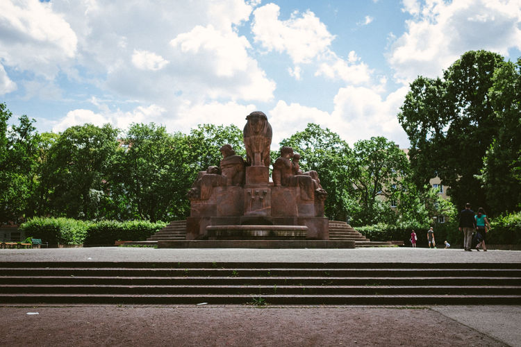 Architecture Berlin Capture Berlin Cultures Day Deutschland Germany No People Outdoors Park Sky Statue Travel Travel Destinations