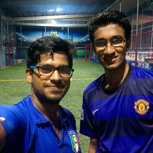 After Game Selfie. ⚽ Exhausted!! 😅😓 Awesome Evening!! 😎 AfterGameSelfie Exhausted Great Game Footballforlife \../