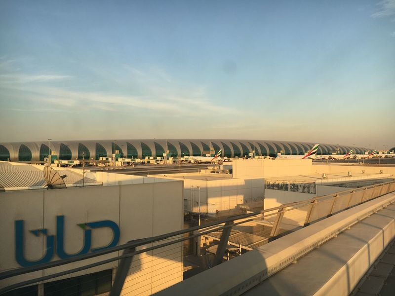 EyeEm Selects Sky Architecture Built Structure Sunlight Day No People Outdoors Nature Dubaiairport Terminal