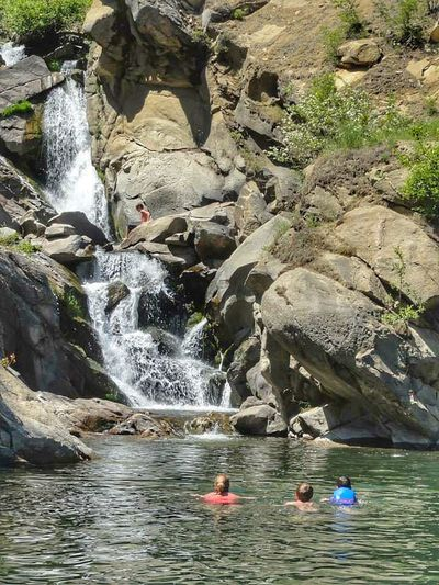 Waterfall Swimming People Lake Pacific Northwest  Lake Roosevelt Protecting Where We Play