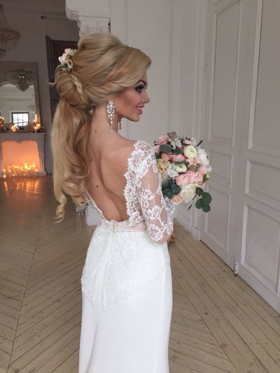 Wedding2015 Blonde Girl Pretty♡ Fashion Hair Wedding Photos Wedding Photography Long Hair Novia2015 Redlips Happy Wedding