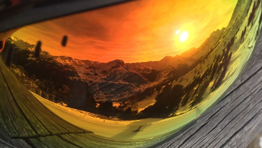 Snow Sports Mountain Snow View Goggles Switzerland Skiing Sun Landscape Beauty In Nature Outdoors Fresh On Eyeem  BYOPaper! Rethink Things