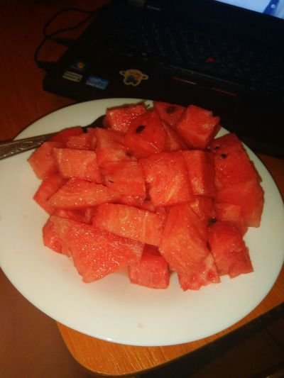 #вечер #арбуз Fruit Red Close-up Food And Drink