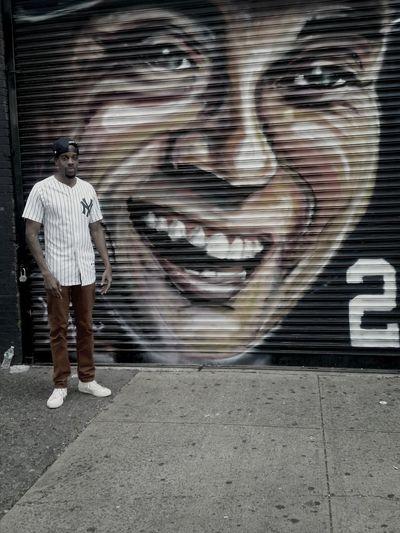 Newyorkyankees Derek Jeter  LexiBellaArt Streetart