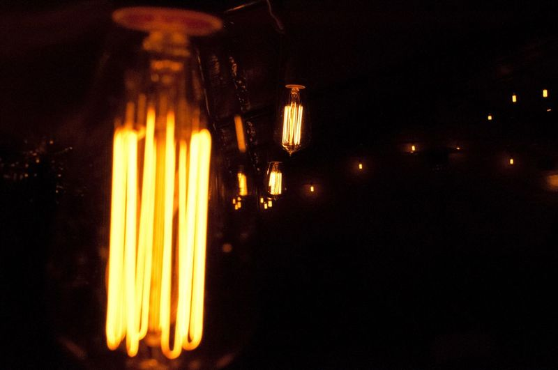 Light a way. Illuminated Glowing Electricity  Indoors  No People Light Bulb Cultivateypsi
