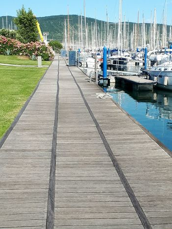 Water Pier Nautical Vessel Harbor Outdoors Day No People Sunlight Sky Nautic Club Summer