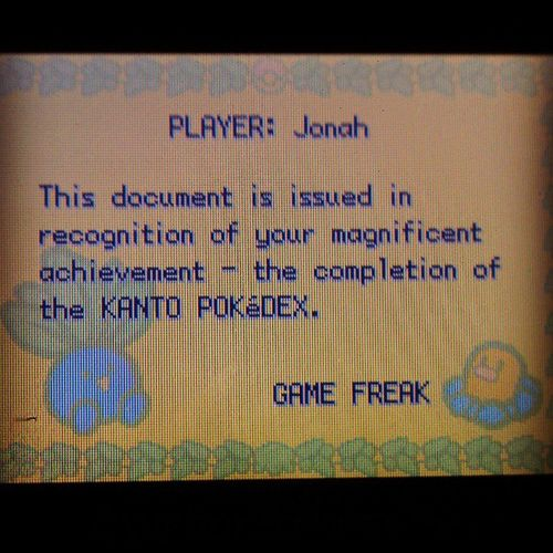 I'm the pokemon master. #finished #pokedex #kanto #150 #what #am #I #doing I Finished What Am Doing 150 Kanto Pokedex
