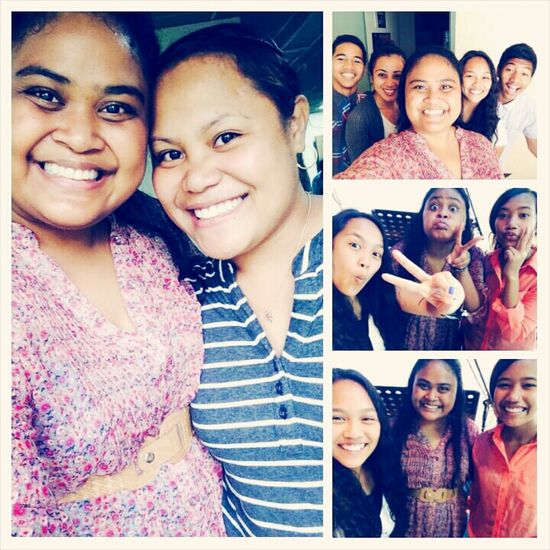 Happy sunday☺ church selfie with friends, love you guys?