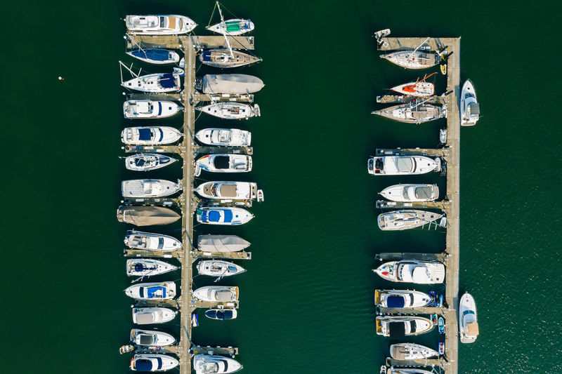 A stunning view of mega yachts Nautre Outdoors Yacht Yachting High Angle View Drop Aerial View Travel Destinations Boat Ship Portrait Sea Ocean Holiday Vacations Lifestyles Harbor Coastline Motor Vehicle Yacht Club EyeEm Best Shots EyeEm Selects EyeEm Gallery Expensive Luxury