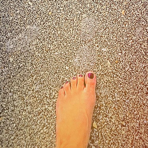 My feet will always belong in the sand!!! Sand Beautiful Foot Footinthesand Saltlife Florida Nature Womansfoot
