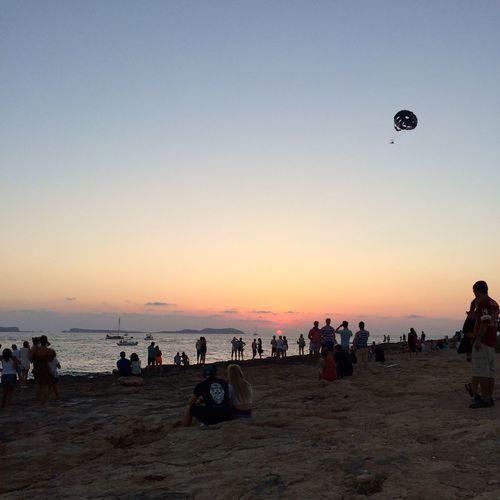 Sunset Chil Out Ibiza Landscape