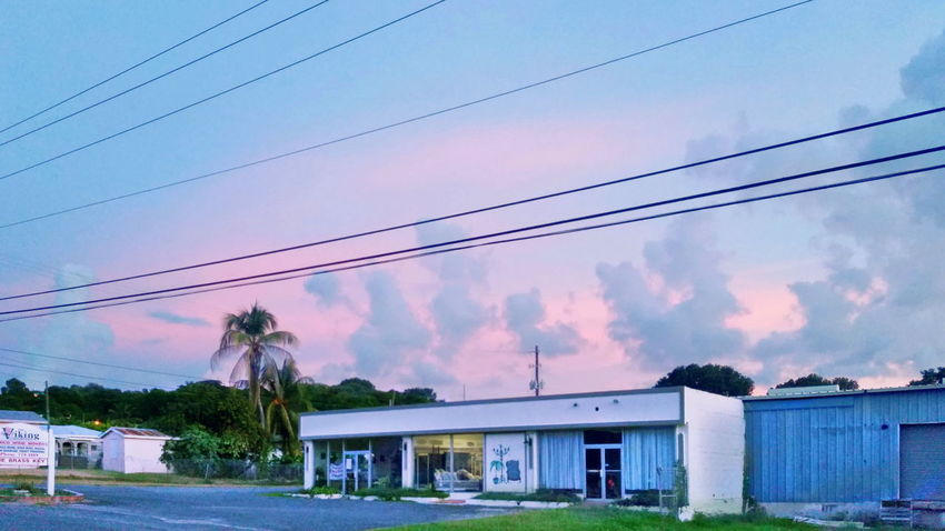 Built Structure Building Exterior No People Clouds And Sky Cloud Formations Multi Colored Sky Houses St.Croix, US Virgin Islands