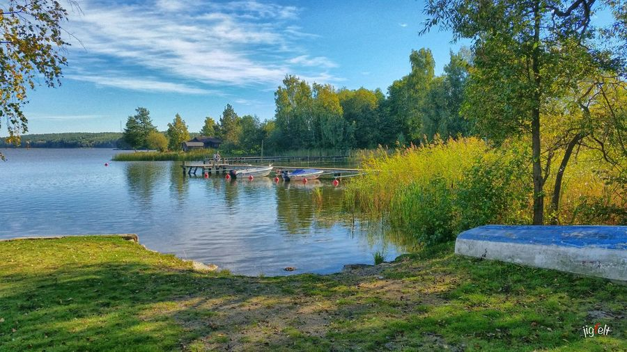 Beatiful Nature Nature_collection EyeEm Nature Lover Boats Sunshine Swedish Nature Hello World Check This Out