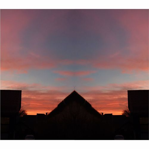 Sky Sunset Silhouette No People House Outdoors Day Nature Budapest Sunshine Hungary Building Simmetrical Simmetrical Building