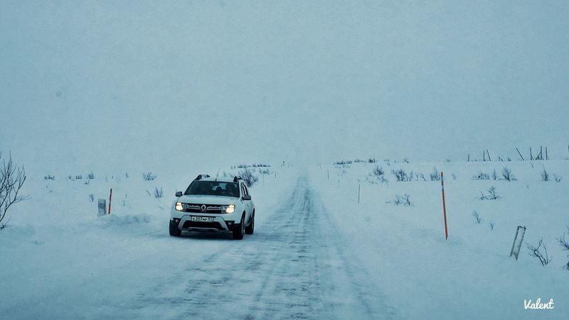 Road to Teriberka Teriberka Transportation Snow Mode Of Transportation Winter Cold Temperature Motor Vehicle Environment Car