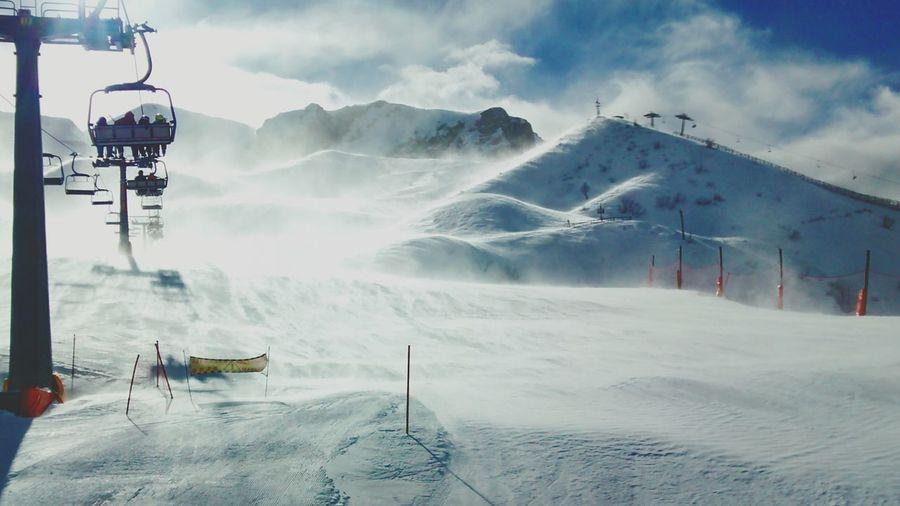 Windy day ? Snow Fun