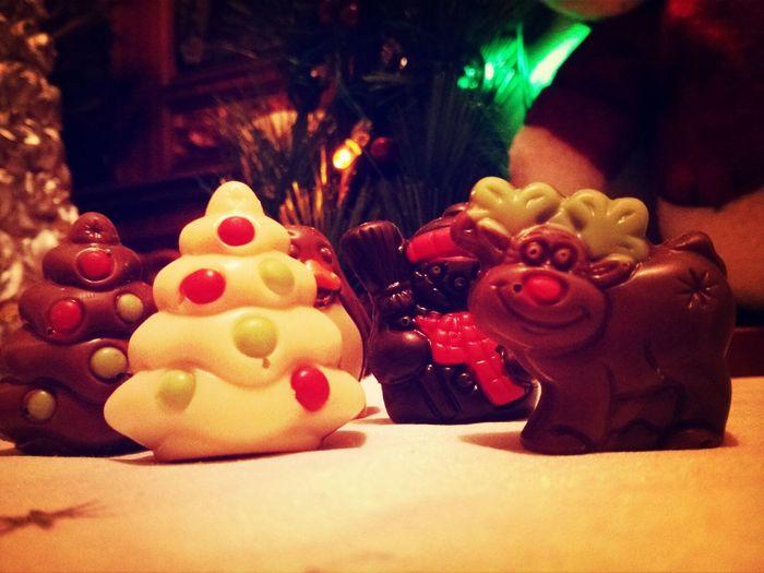 Christmas sweets by me!♥ Christmas Reindeer Chocolate Chocolate Christmas Tree