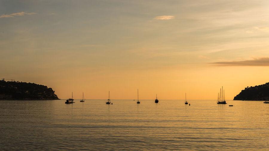 Beach Boats Calm Landscape Nikonphotography Sea Seascape Sunset Tranquility WaterShowcasefebruaryy Showcase: February