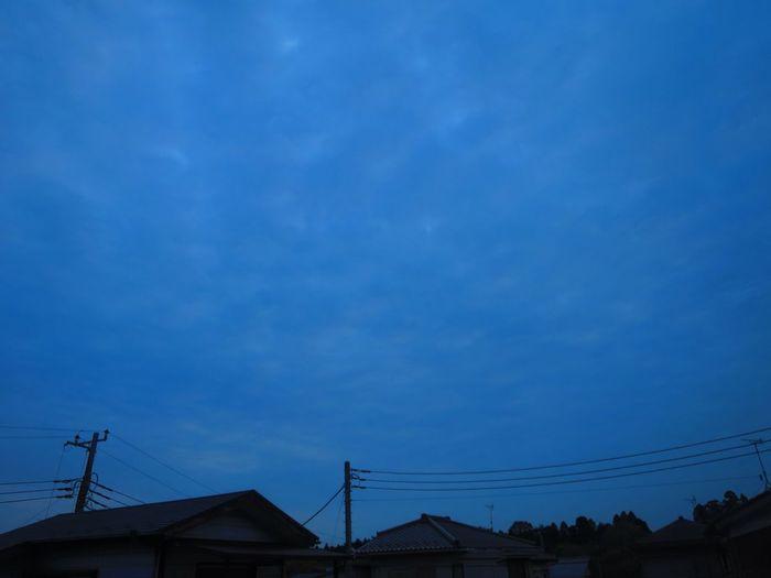 おはようございます。 Morning Cloudy Cloud - Sky おはよう Canon S120