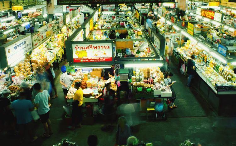 Market Shop Kiosk Foods Seller Chiang Mai   Thailand