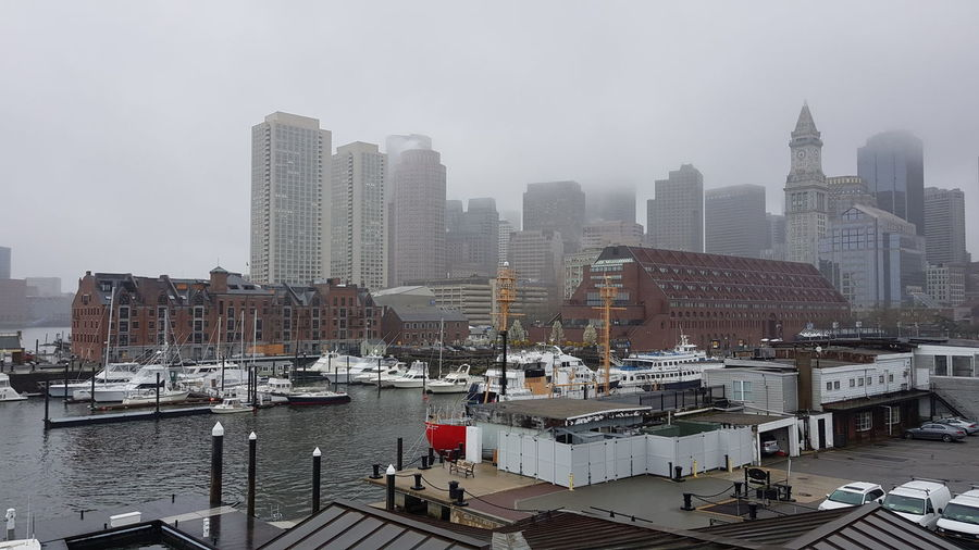 Boston Harbour,