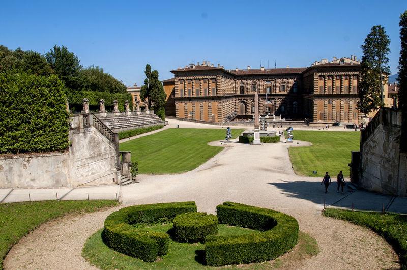 Florence, the Boboli garden City Pitti Palace Art City Boboli Garden Florence Flower Garden Italy Landscape Toruism