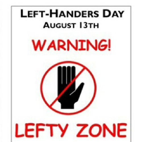 LeftyDay ThatsMe Imdifferent ImSPECIAL Hahaha