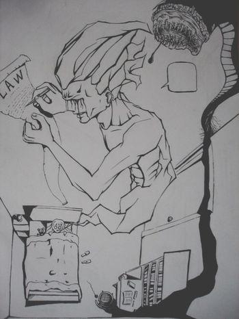 Nightmare Nightmare Drawing ✏ Comic