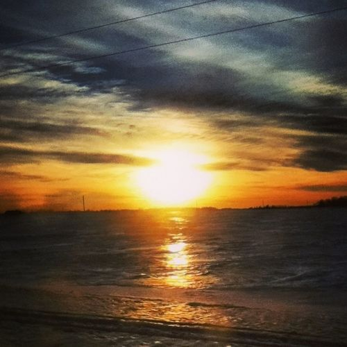 I miss the bright days Sunshine ☀ Winter Clouds Bright
