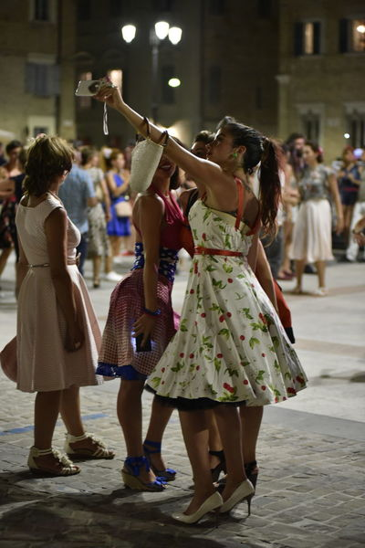 Beautiful Girls  Dancing Girl Selfie Senigallia Summerjamboree