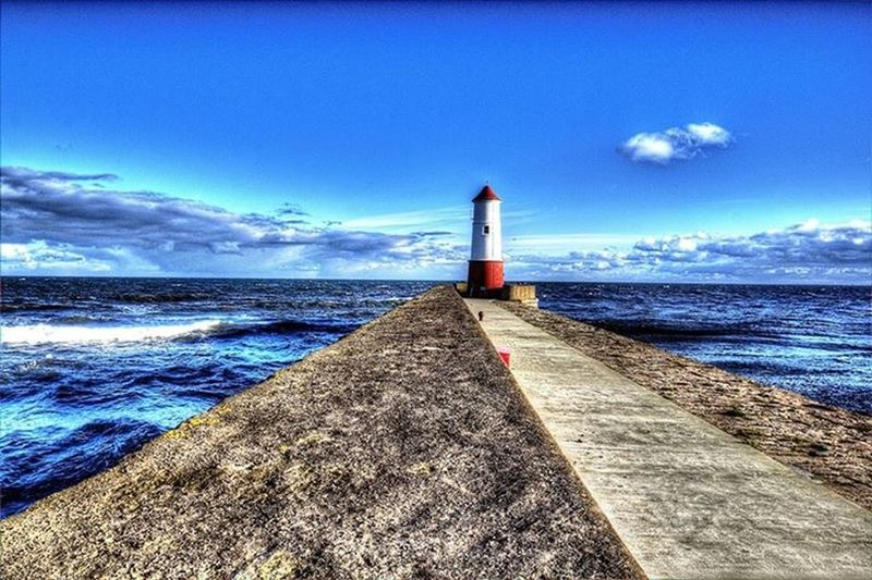 Berwickupontweed Berwick Northumberland Berwickupontweed Lighthouse Lighthouse_lovers Pier Northumberland First Eyeem Photo
