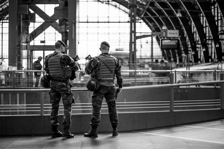 Antwerp Antwerpen Antwerpen, Belgium Belgium City Indoors  Men Person Save Security Soldier Soldiers Transportation