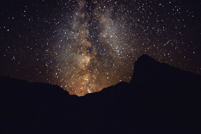 Milkyway✨ Night Beauty In Nature Illuminated No People Nature Sky Low Angle View Outdoors Dark Galaxy