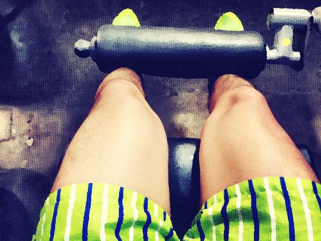 Gym timé pierna