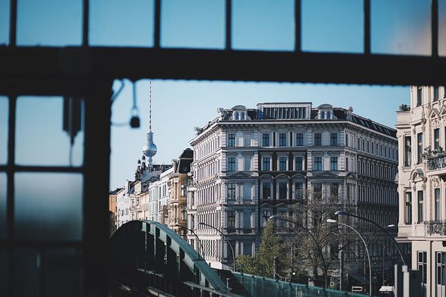 EyeEm Selects Berlin Architecture Building Exterior Window City No People Outdoors Sky