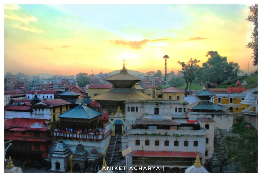 Sunset Travel Tourism Architecture Travel Destinations Evening View Eveingphotography Pashupatinath Temple Pashupatinath Heritage Site Nepalese Beauty Nepal8thwonder Nepal Travel World Heritage Kathmandu City Nepal Temple Beautiful Nepal