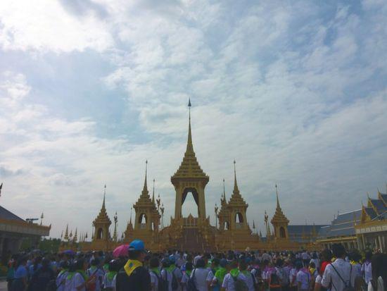 Thailand พระเมรุมาศพระบาทสมเด็จพระปรมินทรมหาภูมิพลอดุลยเดช 😚 EyeEmNewHere