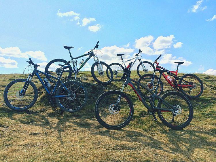 Malvern hills Malvern Hills Mountainbike IPhoneography