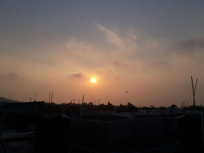 Sunrise Hubli Nature Morning Sky Astronomy Cloud - Sky Landscape