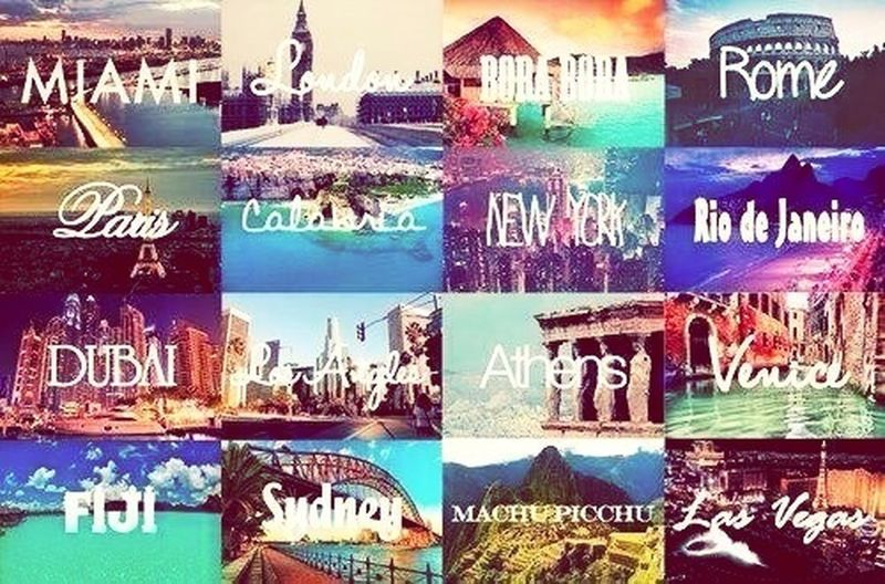 I Would Visit All Of These Place..
