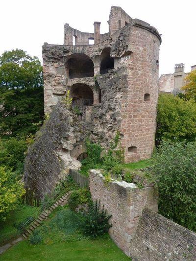 Castle Walls Castle In Ruins Germany