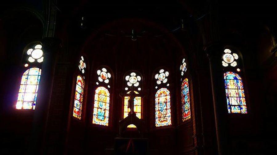 Dresden Church Light Stainedglass Тот неловкий момент когда внутри холоднее, чем снаружи, зато массивное и очень красивое здание
