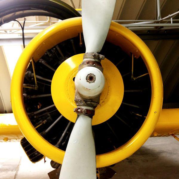 Sternmotor Flugzeug Flugzeugmotor Propeller Rotor Radial Engine