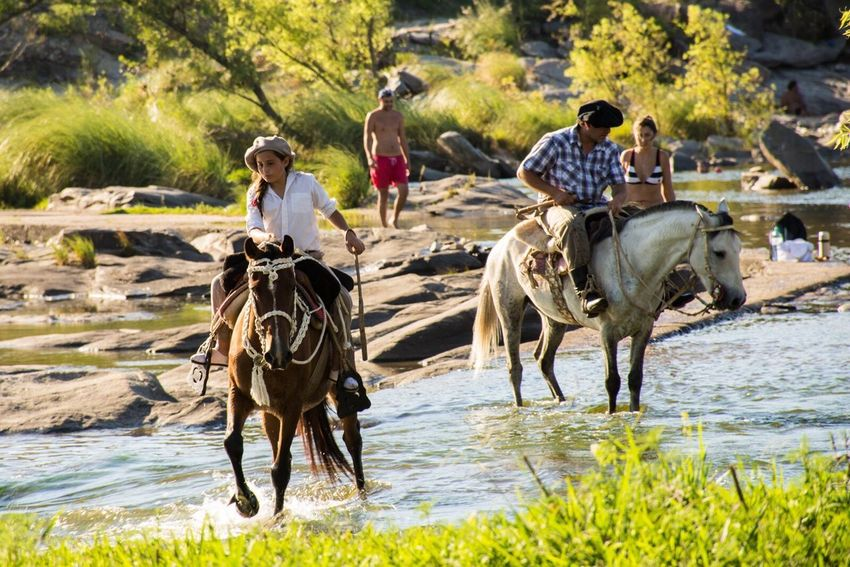 Cosquin Animal Outdoors People Tree Water Nature Day Beauty In Nature Travel Destinations Córdoba
