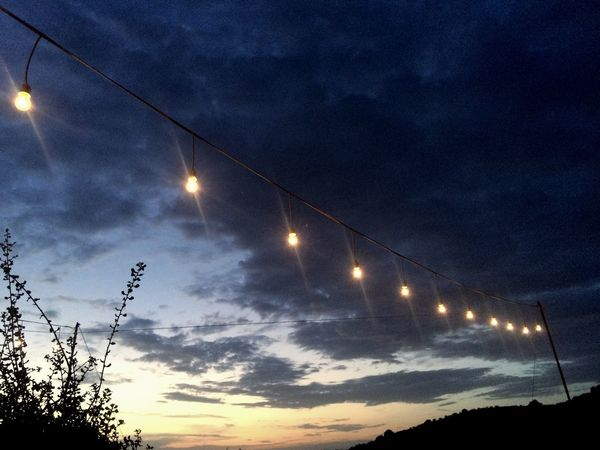 Evening Alfresco Lights Outside Photography Beautiful Sky Sunset Silhouettes