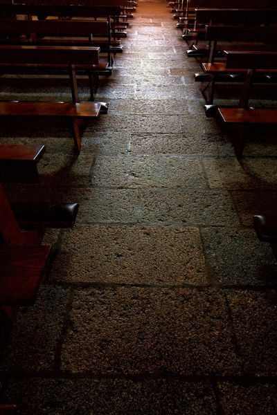 Church Absence Aisle Architecture Arrangement Background Bench Chair Direction Empty Flooring Footpath Full Frame Furniture Illuminated In A Row Indoors  Light At The End Of The Tunnel No People Seat The Way Forward Wood - Material