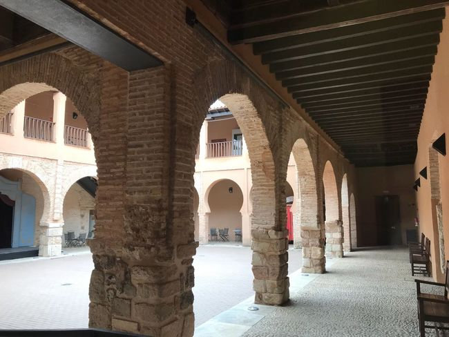 Built Structure Architecture Architectural Column Arch Building Arcade Building Exterior Day Corridor No People The Past