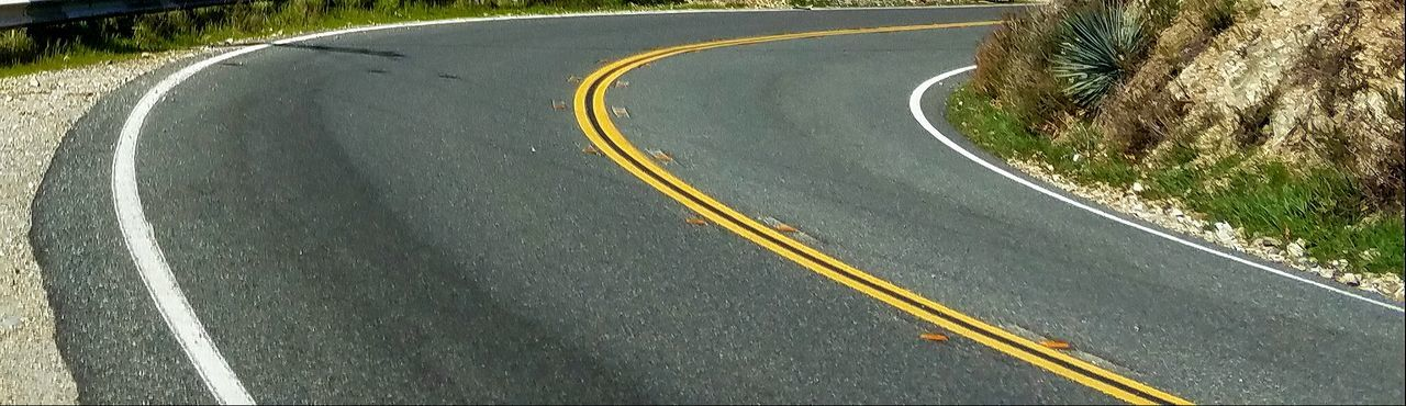 Curve Curve In The Road Yellow Lines Leisure Activity Driving Road Ahead Copy Space Check This Out EyeEm Best Shots Beauty In Nature Fine Art Photography Tranquility Vitality Asphalt Riding The Curves Angles Around The Bend Inquisitive Guess Flow  Pattern Meditation Freshness Backgrounds Flying High